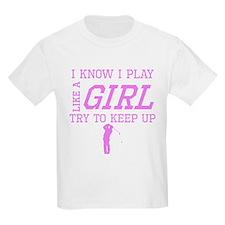 Golf Like A Girl T-Shirt