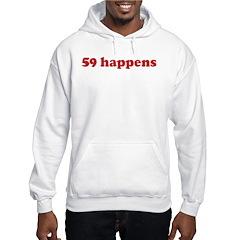 59 happens (red) Hoodie