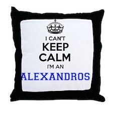 Funny Alexandro Throw Pillow