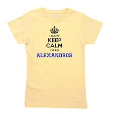 Cute Alexandro Girl's Tee