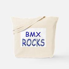 BMX Rocks Tote Bag