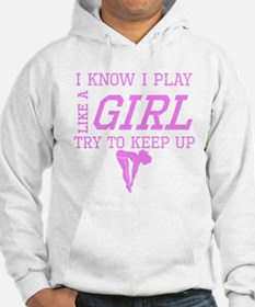 Diving Like A Girl Hoodie