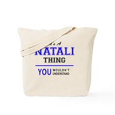 Funny Natalie Tote Bag