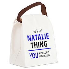 Unique Natalie Canvas Lunch Bag