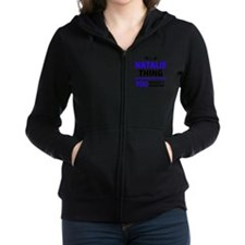 Unique Natalie Women's Zip Hoodie