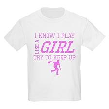 Bowling Like A Girl T-Shirt
