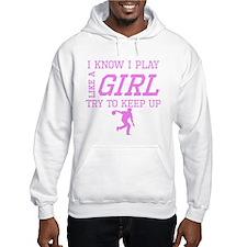 Bowling Like A Girl Hoodie