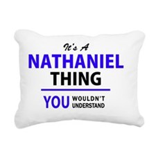 Unique Nathaniel Rectangular Canvas Pillow