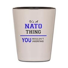 Cute Nato Shot Glass