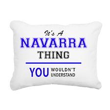 Cute Navarra Rectangular Canvas Pillow