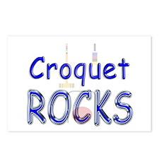 Croquet Rocks Postcards (Package of 8)