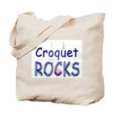 Croquet Rocks Tote Bag