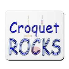 Croquet Rocks Mousepad