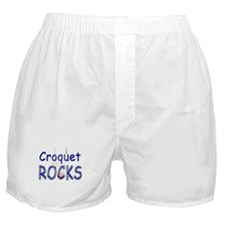 Croquet Rocks Boxer Shorts