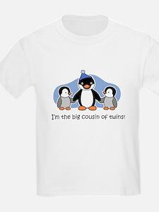 Big Cousin of Twins (Penguin) T-Shirt
