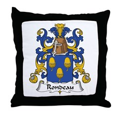 Rondeau Throw Pillow