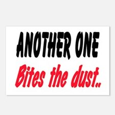BITES THE DUST Postcards (Package of 8)