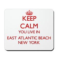 Keep calm you live in East Atlantic Beac Mousepad