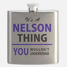 Cute Nelson Flask