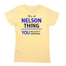 Funny Nelson Girl's Tee