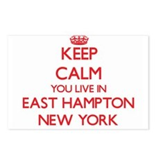 Keep calm you live in Eas Postcards (Package of 8)