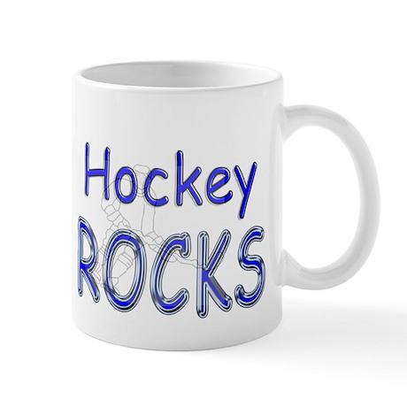 Hockey Rocks Mug