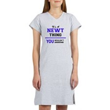 Cute Newt Women's Nightshirt