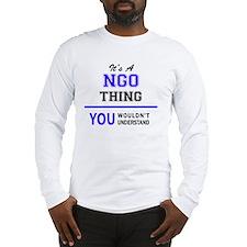 Funny Ngo Long Sleeve T-Shirt