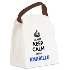 Funny Amarillo Canvas Lunch Bag