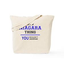 Funny Niagara Tote Bag