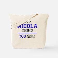 Unique Nicolas Tote Bag