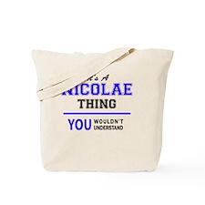 Cute Nicolas Tote Bag
