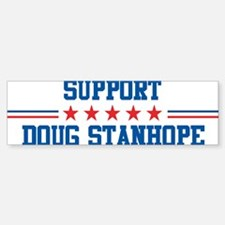 Support DOUG STANHOPE Bumper Bumper Bumper Sticker