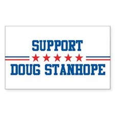 Support DOUG STANHOPE Rectangle Decal