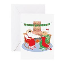 A Froggy Christmas! Cards (Pk of 10)