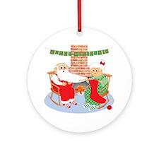 A Froggy Christmas! Ornament
