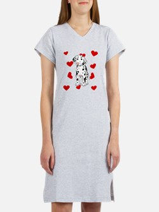 Dalmatian Love Women's Nightshirt