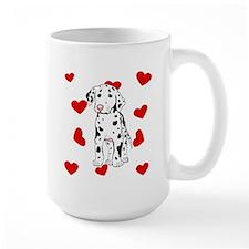 Dalmatian Love Mugs