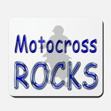 Motocross Rocks Mousepad