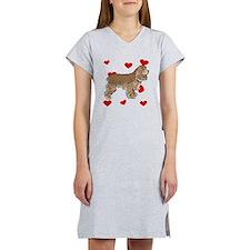 Cocker Spaniel Love Women's Nightshirt