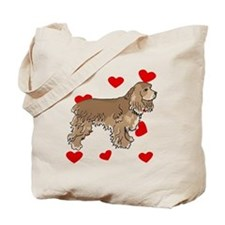 Cocker Spaniel Love Tote Bag