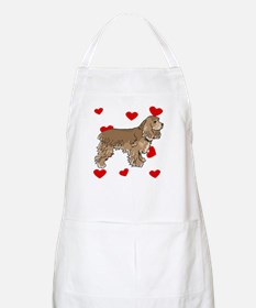 Cocker Spaniel Love Apron