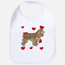 Cocker Spaniel Love Bib
