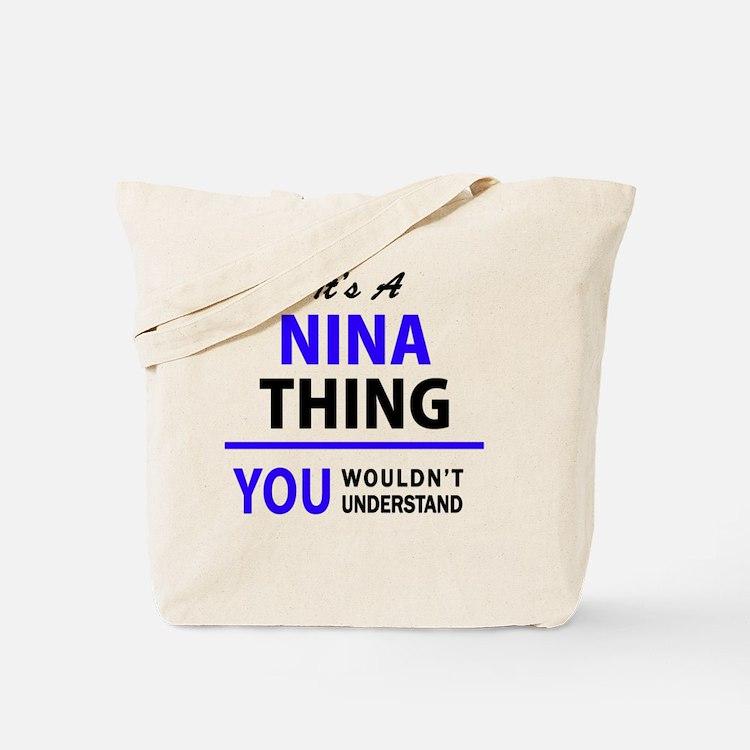 Cute Nina Tote Bag