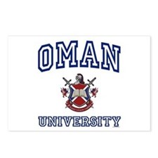 OMAN University Postcards (Package of 8)