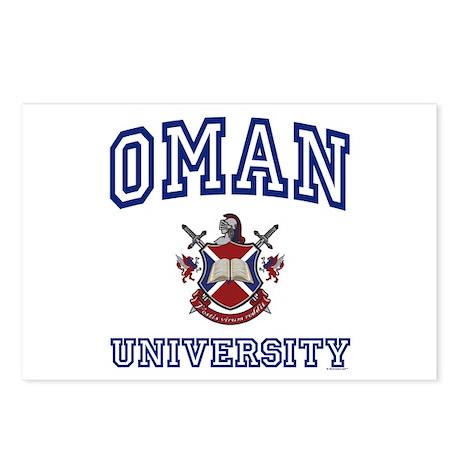 OMAN University Postcards (Package of 8)