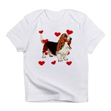 Basset Hound Love Infant T-Shirt