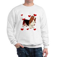 Basset Hound Love Sweatshirt