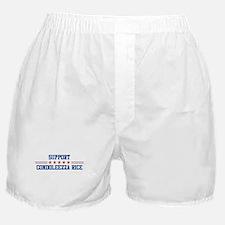 Support CONDOLEEZZA RICE Boxer Shorts