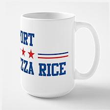 Support CONDOLEEZZA RICE Large Mug